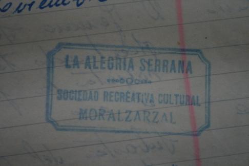 El sal n de baile costumbres de moralzarzal - Spa moralzarzal ...