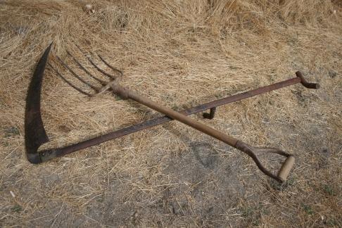 El medio rural en moralzarzal - Herramientas de campo antiguas ...
