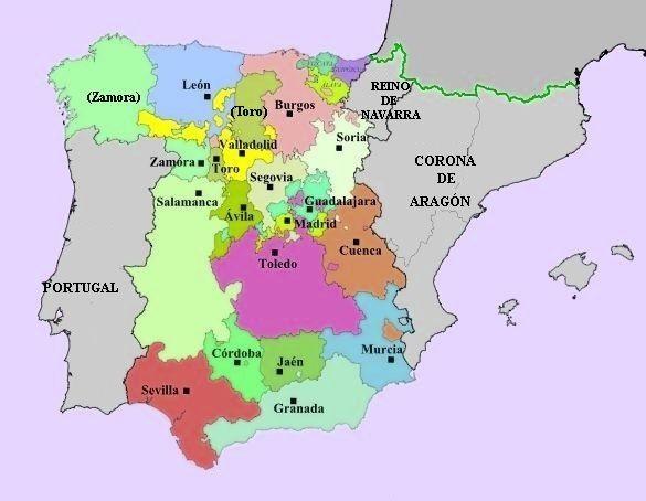Organizacion Territorial De Espana
